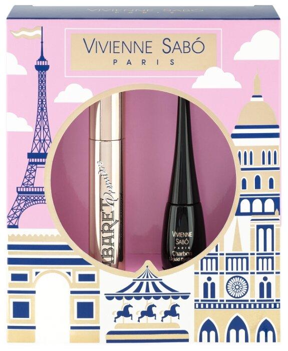 Набор декоративной косметики Vivienne Sabo тушь Cabaret Premiere, тон 01 + подводка Charbon