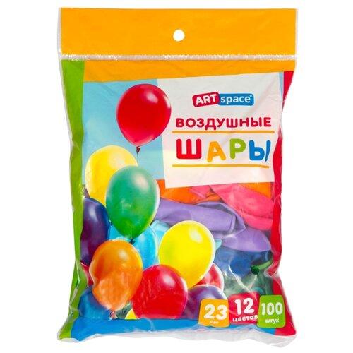 Набор воздушных шаров ArtSpace BL_16088 пастель (100 шт.)