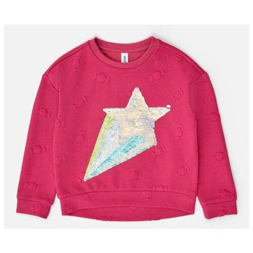 свитер acoola acoola ac008egdkgx1 Свитшот Acoola размер 158, розовый