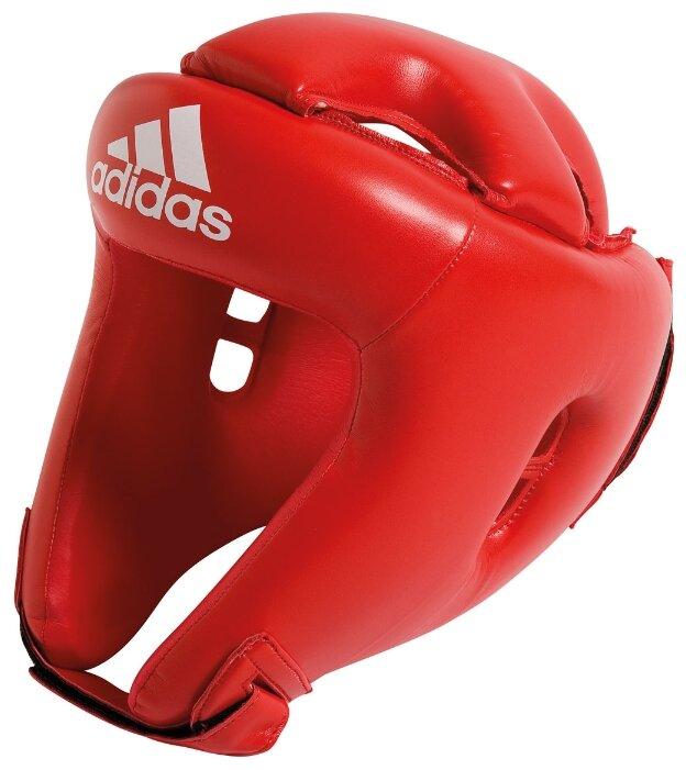Шлем боксерский Adidas Rookie (подростковый), синий, M, искусственная кожа
