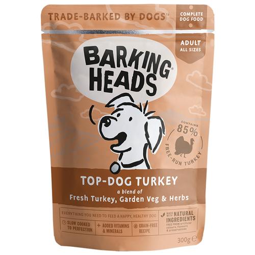 Корм для собак Barking Heads (0.3 кг) 10 шт. Top-Dog Turkey паучи