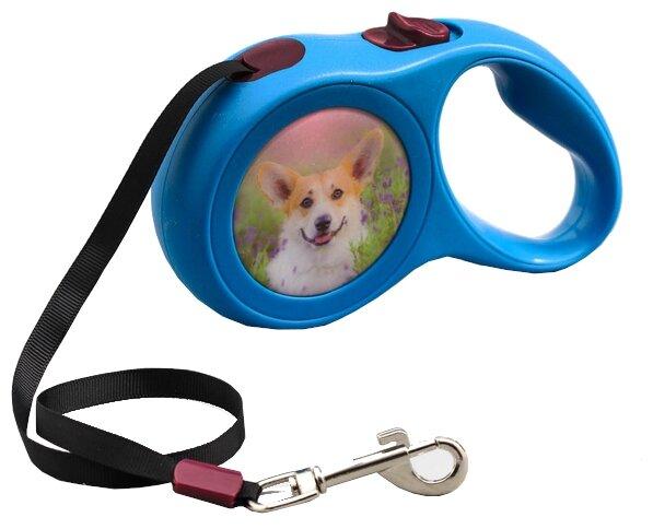 Поводок рулетка для собак Пижон 2603406