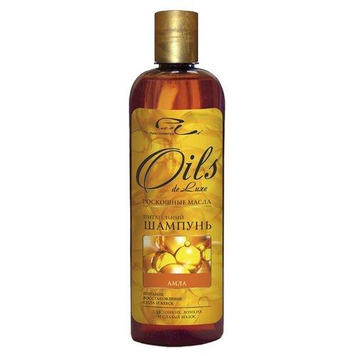 Oils de Luxe шампунь питательный Амла 500 мл шампунь de luxe стабилизатор цвета 1000 мл