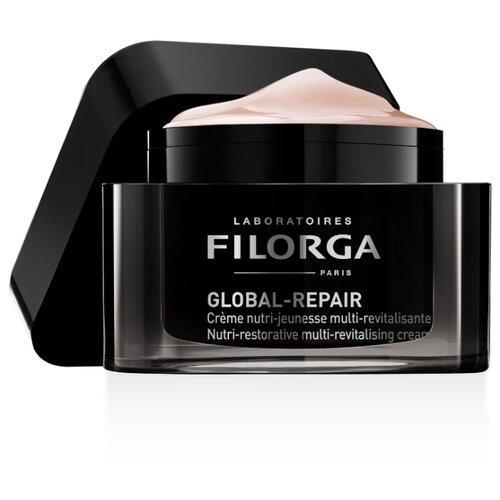 Filorga Global-Repair Cream Питательный омолаживающий крем для лица, 50 мл filorga nctf reverse supreme regenerating cream восстанавливающий крем для лица 50 мл
