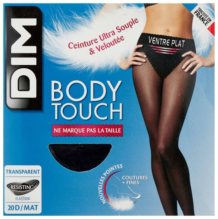Колготки DIM Body Touch Ventre Plat 20 den