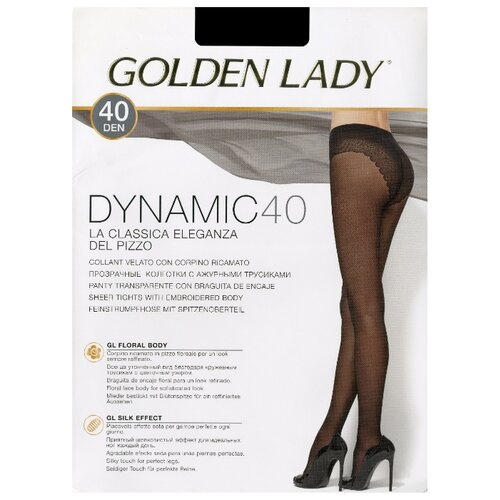 Колготки Golden Lady Dinamic 40 den fumo 4-L (Golden Lady)Колготки и чулки<br>