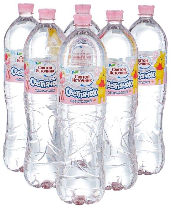 Детская вода Светлячок, c рождения, упаковка из 6 шт