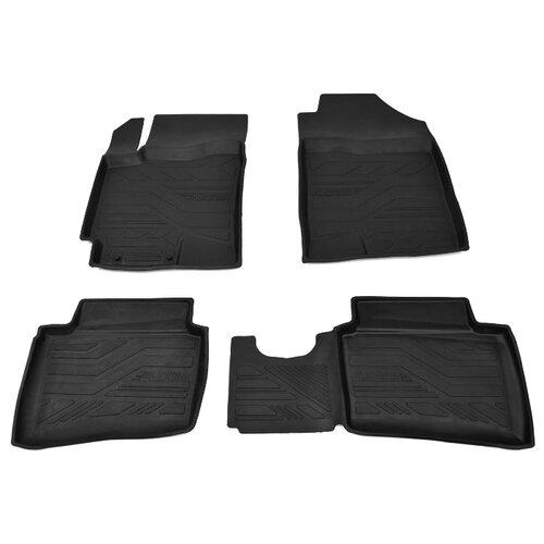 Комплект ковриков AVD Tuning ADRPLR294 Kia Rio X-Line 4 шт. черный