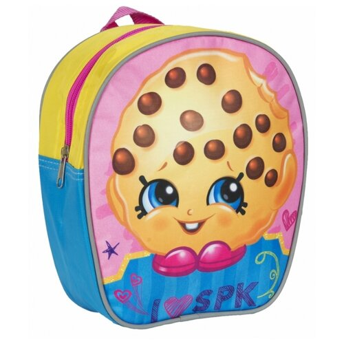 РОСМЭН рюкзак Шопкинс (32222), голубой/розовый