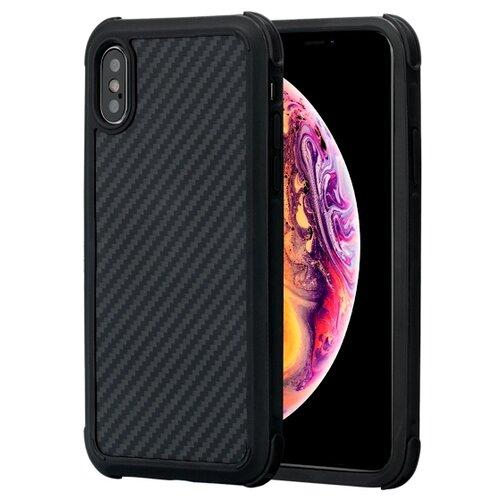Купить Чехол Pitaka MagCase PRO (кевлар) для Apple iPhone Xs черно-серый в полоску