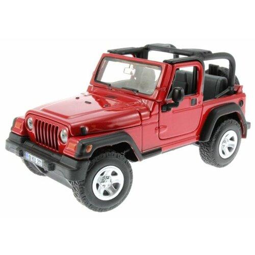 Купить Внедорожник Siku Jeep Wrangler (4870) 1:32 красный, Машинки и техника