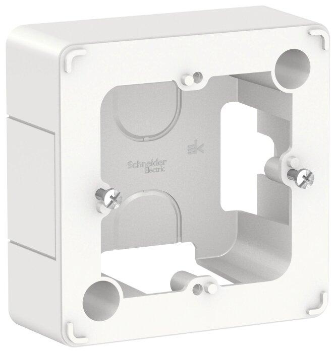 Подрозетник (наружный монтаж) Schneider Electric BLNPK000011 34 х 86 х 86 мм — купить по выгодной цене на Яндекс.Маркете
