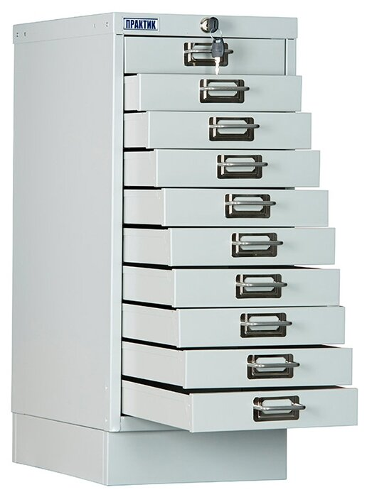 Шкаф архивный ПРАКТИК MDC-A4/650/10