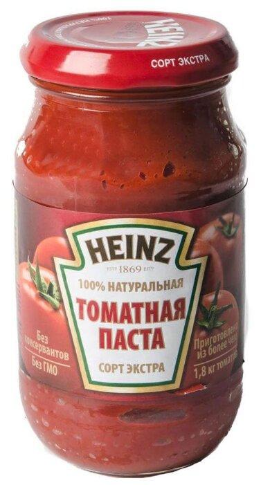 Heinz Томатная паста, стеклянная банка