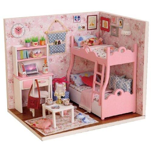 Купить Dolemikki кукольный домик ZQW07, розовый, Кукольные домики