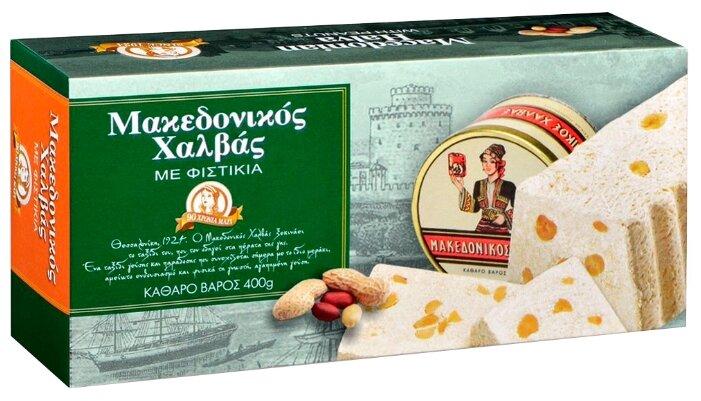 Македонская халва HAITOGLOU с арахисом