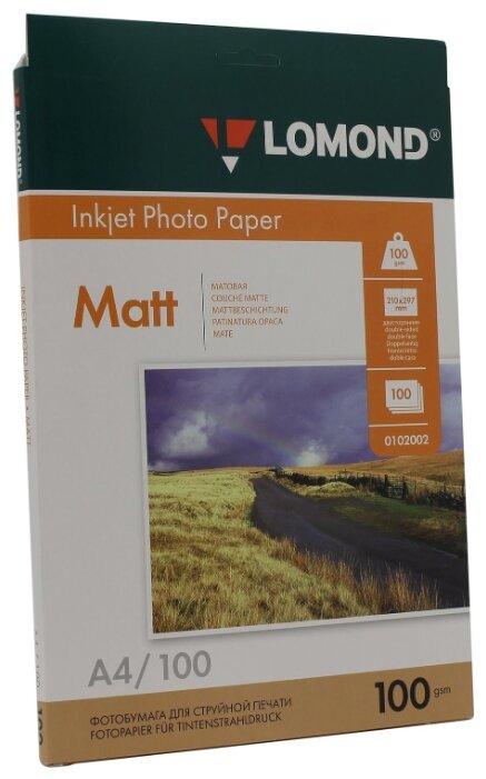 Бумага A4 100 шт. Lomond Photo Paper 0102002