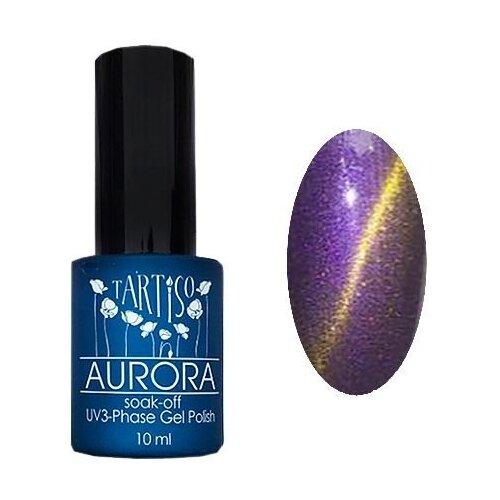 Купить Гель-лак для ногтей Tartiso Aurora, 10 мл, 11 нежно-фиолетовый