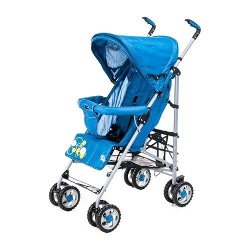 Купить Прогулочная коляска Liko Baby BT-109 City Style синий, Коляски