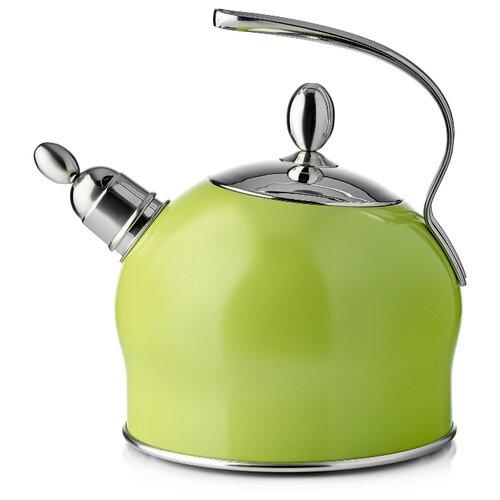 Esprado Чайник Ritade 2,5 л салатовый/серебристый esprado чайник onix 2 2 л черный серебристый