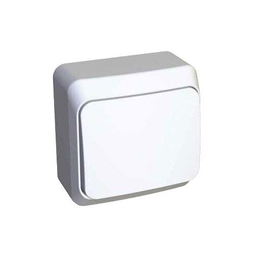 Выключатель 1-полюсныйвыключатель / переключатель Schneider Electric ЭТЮД BA10-001B,10А, белыйРозетки, выключатели и рамки<br>