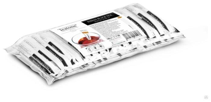 Чай черный Teatone байховый в стиках 1 г 100 шт, 100 г.