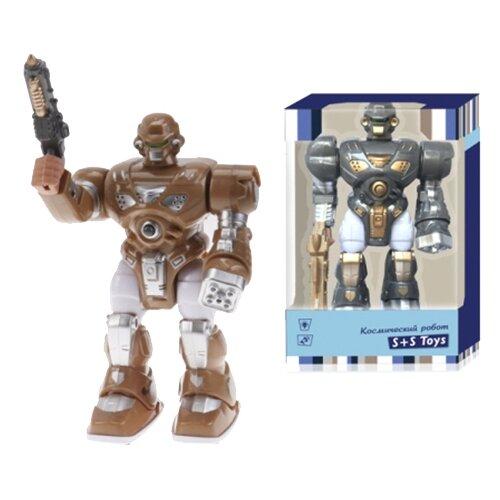 Купить Робот S+S Toys Космический робот коричневый/серый, Роботы и трансформеры