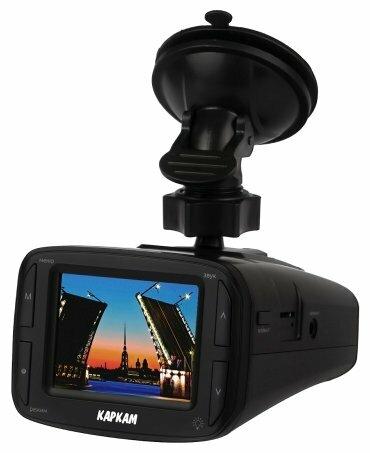 Видеорегистратор с радар-детектором CARCAM Комбо, GPS, ГЛОНАСС