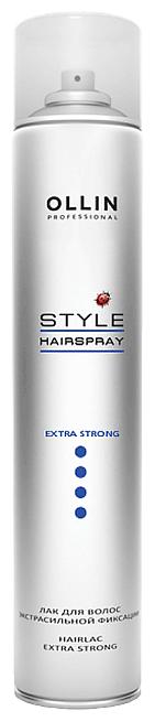 OLLIN Professional Лак для волос экстрасильной фиксации,