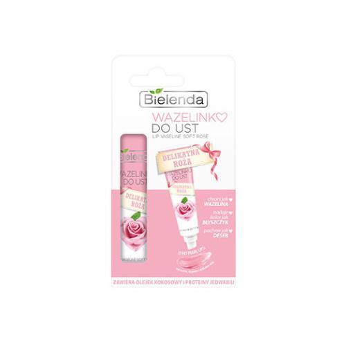 Bielenda Бальзам для губ Delikatna roza польская косметика bielenda