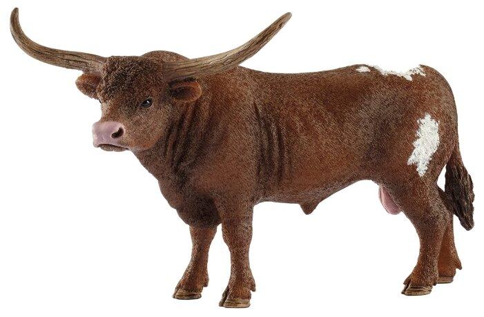 Фигурка Schleich Техасский лонгхорн бык 13866
