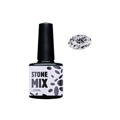 Купить Гель-лак для ногтей Lianail Stone MIX, 10 мл, оникс