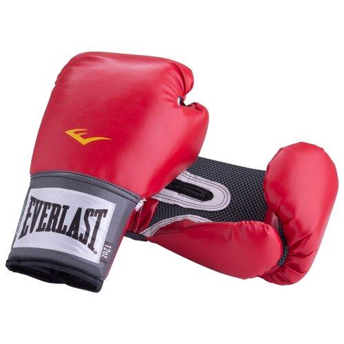 цена на Боксерские перчатки Everlast PU Pro style anti-MB red 16 oz