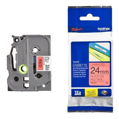 Фото - Картридж для принтера этикеток Brother, арт. TZe-451 (24 мм) картридж для принтера этикеток brother арт tze 253 24 мм