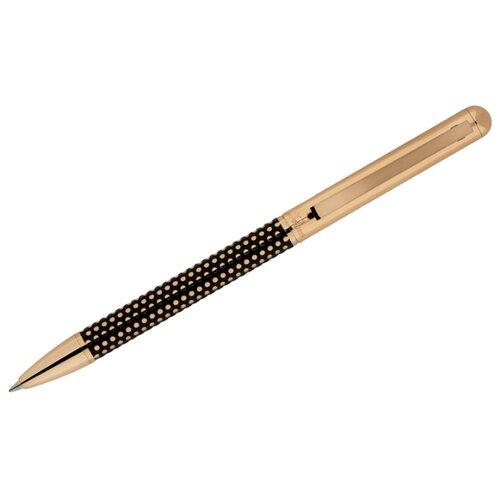 DELUCCI Ручка шариковая Artista, 0.7 мм, синий цвет чернил delucci ручка шариковая taglia синий цвет чернил