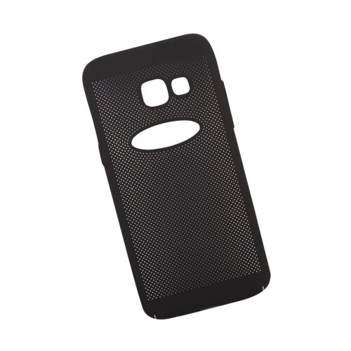 Чехол Liberty Project Сетка Soft Touch Samsung Galaxy A3 (2017) черный