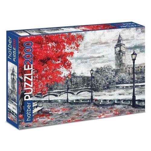 Купить Пазл Hatber Premium Осенний Лондон (2000ПЗ1_20405), 2000 дет., Пазлы