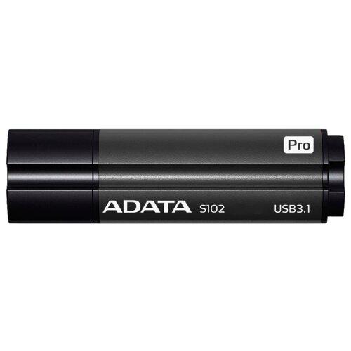 Фото - Флешка ADATA S102 Pro 64GB титаново-серый флешка adata dashdrive uv128 64gb черный голубой