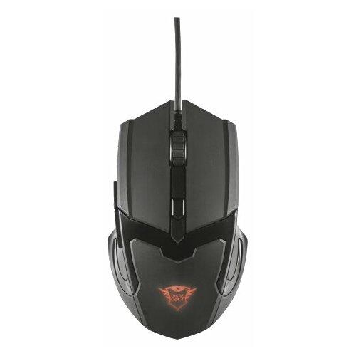 Мышь Trust GXT 101 Gaming Mouse Black USB микрофон trust gxt usb