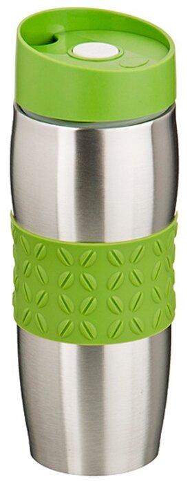Купить Термокружка Agness Coffee bean (0,4 л) зеленый по низкой цене с доставкой из Яндекс.Маркета (бывший Беру)