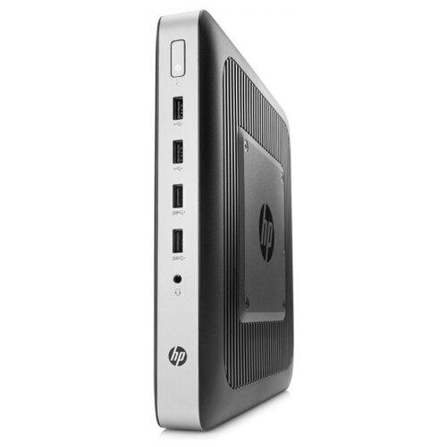 Тонкий клиент HP t630 (2ZU98AA) AMD GX-420GI/4 ГБ/AMD Radeon R7/Windows Embedded Standard черный/серебристый  - купить со скидкой