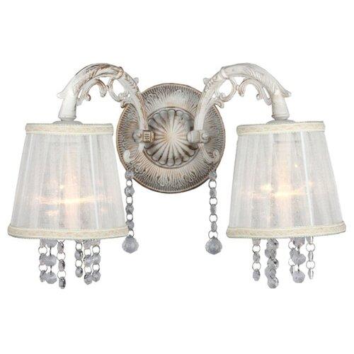 Настенный светильник Omnilux Bologna OML-30001-02, 80 Вт настенный светильник omnilux asiago oml 85301 02 80 вт