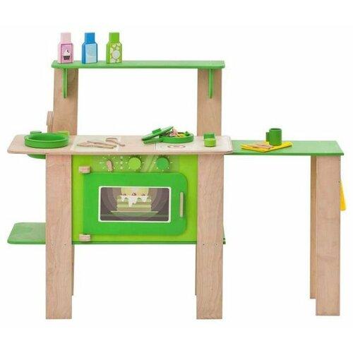 Купить Кухня PAREMO PK115/PK115-01/PK115-02 зеленый/коричневый, Детские кухни и бытовая техника