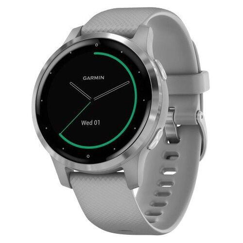 цена на Часы Garmin Vivoactive 4s серебристый/серый