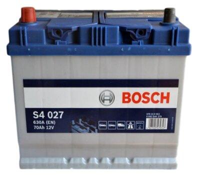 Аккумулятор автомобильный Bosch S4 007 6СТ-72 обр. (низкий) 0 092 S40 070