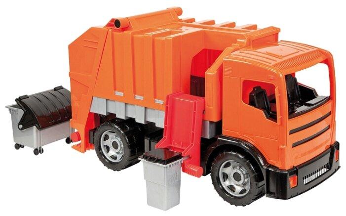 Мусоровоз Lena Powerful Giants (02166) 64.5 см оранжевый