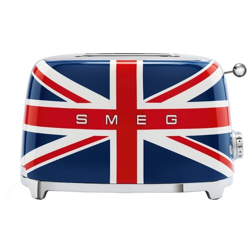 Тостер smeg TSF01UJEU, британский флаг