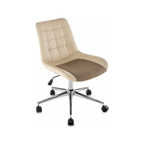 Фото - Компьютерное кресло Woodville Marco офисное, обивка: текстиль/искусственная кожа, цвет: beige компьютерное кресло woodville rich офисное обивка искусственная кожа цвет коричневый