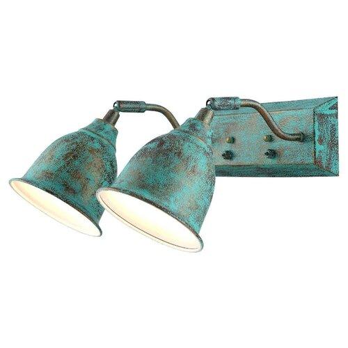 Бра Arte Lamp Campana A9557AP-2BG, с выключателем arte lamp спот arte lamp campana a9557ap 3cc
