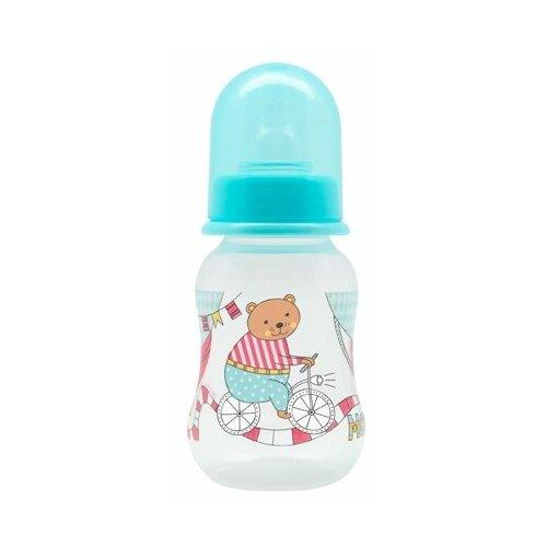 lubby бутылочка с соской малышарики 125 мл с рождения желтый Lubby Бутылочка JUST Lubby с соской, 125 мл с рождения, в ассортименте
